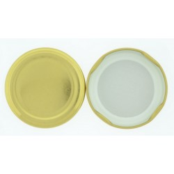 70mm Gold Twist Top Lid