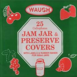 Cellophane Jam Jar Covers