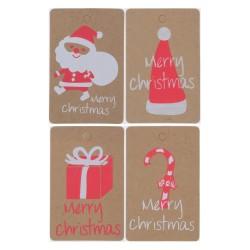 20 x Kraft Christmas Gift...