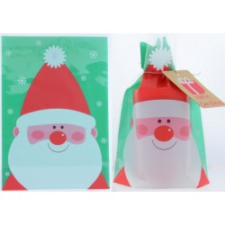 20 x Large Gusseted Santa...