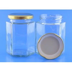 300ml Hexagonal Jar with...