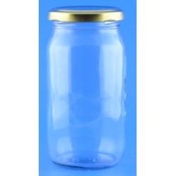 375ml Round Jar with Lids x 6