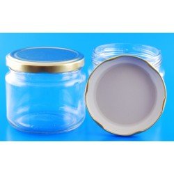300ml Round Squat Jar with...