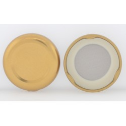 38mm Gold Twist Top Lid