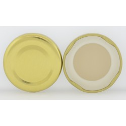 48mm Gold Twist Top Lid