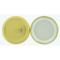 63mm Gold 'Pop Top' Lid