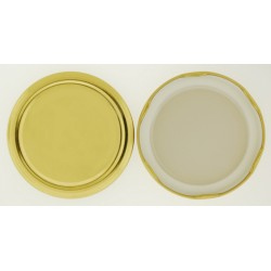 82mm Gold Twist Top Lid