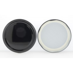 82mm Black Twist Top Lid